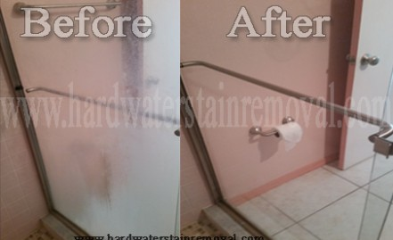 Hard Water Stain Removing